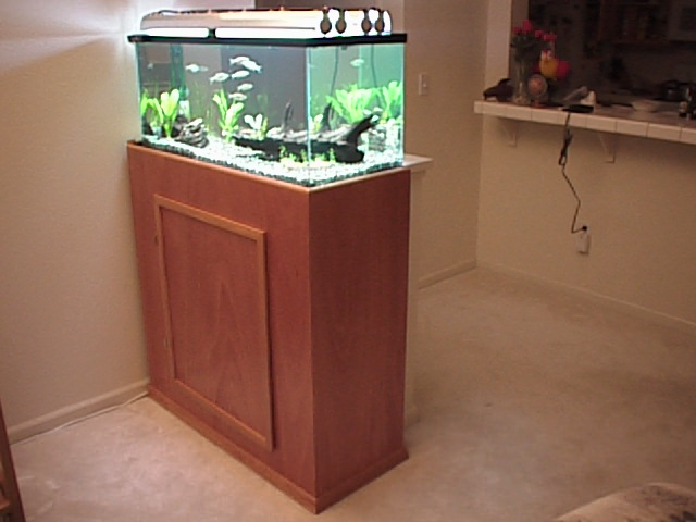 Aquarium stand for Fish tank stand plans